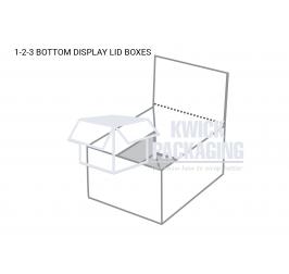 Custom 1-2-3 Bottom Display Lid Template