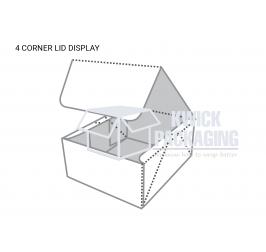 Custom 4 Corner Box with Display Template