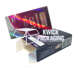 Custom Printed Metalized Packaging Boxes Wholesale