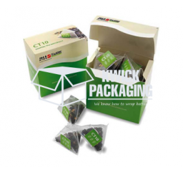 Custom Tea Packaging Boxes Wholesale