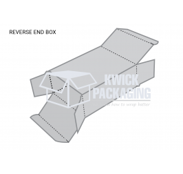 Custom Reverse Tuck End Boxes Template