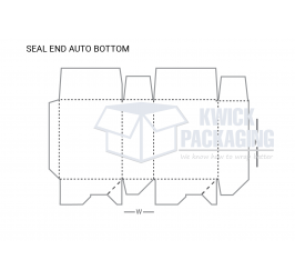 Seal End Auto Bottom Boxes With templates