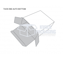 Tuck End Auto Bottom Packaging Boxes Templates