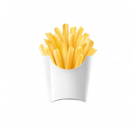 Custom French Fries Sleeve and Boxes