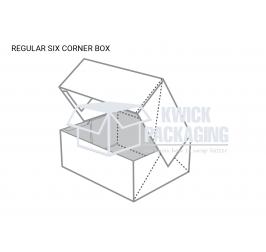 Regular Six Cornor Packaging Boxes
