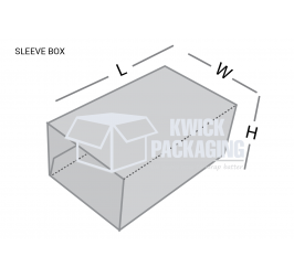 Custom Sleeve Boxes Template