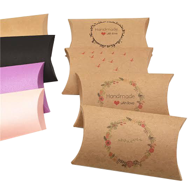 Custom Pillow Gift Packaging Boxes